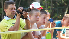Spectators (hoshinosuna bega) Tags: boy people man men spectators spectator p8226966