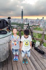 IMG_4615 (JIMI_lin) Tags: sunset 101 taipei 信義區 觀音山 大冒險 虎山峰