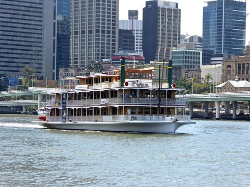 The Kookaburra Queen Paddlewheelers are true icons of the Brisbane River, based on the Mississipi, and Murray River Paddlewheelers and celebrate Brisbane's greatest asset - our river.  The vessels were aptly named because the Kookaburra is a native