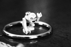 Gollum in Heaven (ArtofScholle) Tags: blackandwhite bw canon lego lord ring lotr rings gollum the 70d 18135mm