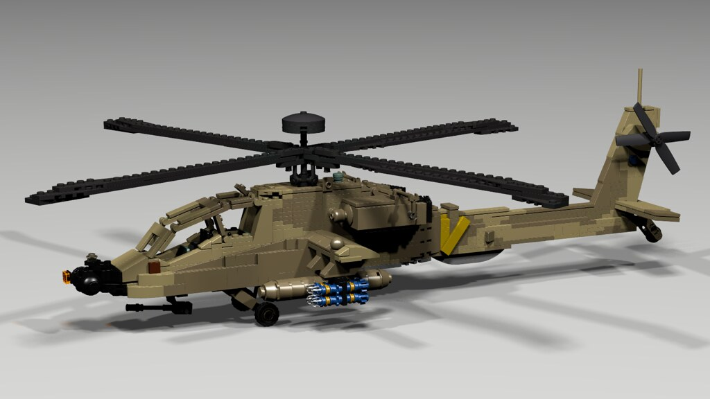Lego Apache Longbow Helicopter