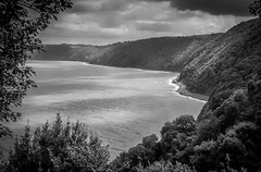 Clovelly-18-08-2014-IMG_0840-Edit (agendean) Tags: sea bw clouds landscape north hills devon clovelly