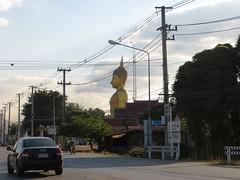 Roadside Buddha - Road to Sukothai_3 - Thailand (ashabot) Tags: travel thailand buddha statues buddhism temples roadside shrines streetscenes lightanddark sukhothai