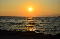 Tramonto a Le Castella (Isola di Capo Rizzuto) Kr (Pr0f82) Tags: sunset beach nikon tramonto mare natur natura nikkor calabria prospettiva fotoamatore nikkor18105 d5100 nikond5100 pr0f82