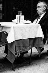 i had better days (Claudia Merighi) Tags: life blackandwhite italy blancoynegro coffee caf monochrome bar sadness solitude italia noiretblanc oldman pb bologna anciano sir past viejo tavolino oldage pensieri pretoebranco italie vieux aperitivo k5 passato tristezza mensch svart solitudine pass anziano blek blackandwhitephotos vecchiaia fo