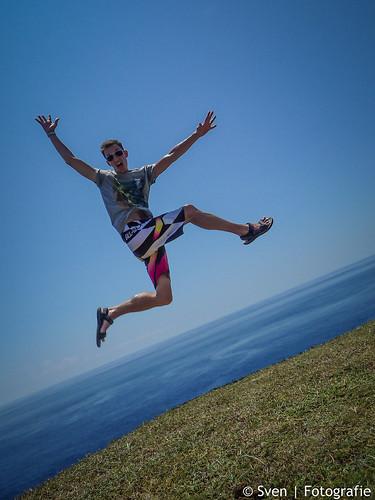 Jump on Green Island