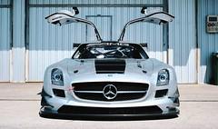 SLS GT3 AMG (therealmarky) Tags: car silver mercedes racing amg racingcar gullwing merc gt3 fastcar amgsls amgacademy alsogt3