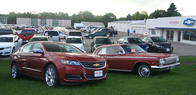 red chevrolet gm ss chevy impala 1962 62 2014 1lz