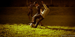 Foul ! (Lalykse) Tags: life playing annecy boys hat sport kids ball foot football play hand soccer ballon main young casquette enfants 1855 pied vie jeu jeune jouer nikond3200