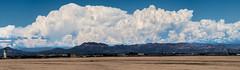 Monsoon Clouds Pushing Over Superstition Mountains (NoobieNikon) Tags: arizona cloud mountain storm mountains phoenix weather clouds nikon az monsoon gilbert storms superstition cumulonimbus d7100 55300mm