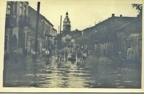 szydłowiecka powódź, ul. Radomska