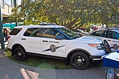 Washington State Patrol Vehicles (andrewkim101) Tags: county ford washington state police utility fair exhibit wa pierce suv patrol puyallup interceptor wsp