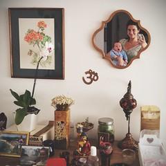 Om (koheka) Tags: love espelho mirror reflex amor nina om decor reflexo afilhada selfie dinda