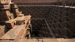 World's  Deepest and Oldest stepwell in Rajasthan, India (Chandana Witharanage) Tags: india rajasthan jaipur stepwell chandbaori inabhanerijaipurrajasthan deepest oldest tourist architecture 7dwf saturdaylandscapes