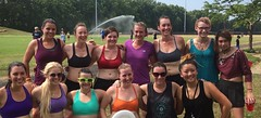 Women's Ultimate Frisbee!