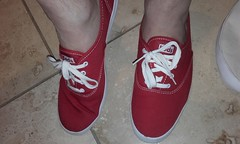Plimsolls of the day-pair 72. Red Keds (eurimcoplimsoll) Tags: