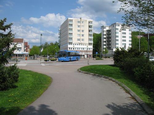 Buss Grön express, Kungälv, 2012