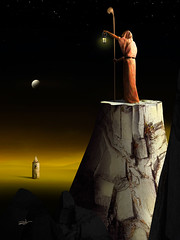 Led IV (Marcel Caram) Tags: digitalart digiart digitalartwork digitalpainting desenhodigital surrealism salvadordali surrealismo surreal photoshop photoshopart photomanipulation magritte maxernst marcelcaram brazil rockandroll rockmusic decoração arquitetura arquitecture ledzeppelin artforsale