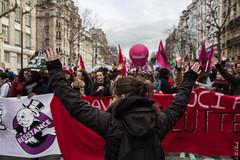 UpyourHand (Hermann.Click) Tags: paris manifestation lutte social mobilisation mouvement grève revoit démonstration démonstrateur syndicat foule cortèges supporter