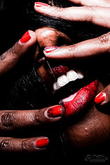 E12A0996-3 (Cristian Photocuba) Tags: rosso lips bocca eros erotica erotismo sensualità nero black color oltre erotico glamour girl woman hot light luce live luci lei hair lussuria eroticamente donna photocuba photo photoset fotografia art artistic series dangerous hand mani smalto sex sesso obsession ossessione ossessionato fame pelle nera pellenera