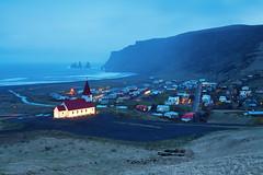 Vk  Mrdal (PLF Photographie) Tags: storm night landscape coast iceland long exposure mark exposition ii 5d cote tempest paysage nuit  1740 islande vk mrdal tempte longue