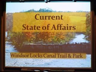 WINDSOR LOCKS - KAREN CARLSON'S CANAL PROGRAM - 28