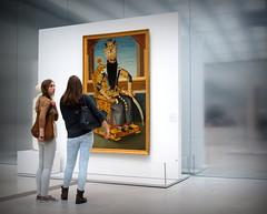 2709 (roberke) Tags: france art museum modern painting lens louvre frankrijk visitor