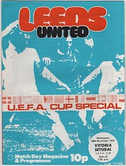 Leeds United vs Vitoria Setubal - 1973 - Cover Page (The Sky Strikers) Tags: road cup night big european united leeds special setubal uefa vitoria elland