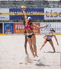 * (P a z u) Tags: girls woman beach girl championship europe european volleyball volley cagliari 2014 poetto cev campionato europeo femminile beachvolleyballeuropeanchampionship