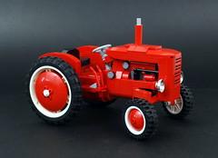 23 (LegoMarat) Tags: tractor lego retro technic moc