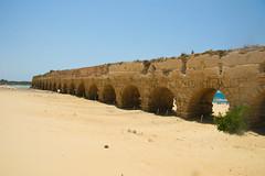 Caesarea_ aqueduct_ Dana Friedlander _ IMOT (Israel_photo_gallery) Tags: sea history archaeology israel ruins mediterranean harbour aqueduct caesarea herods danafriedlader northerncoastalplain