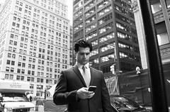 Second Place (John Fraissinet) Tags: street nyc newyorkcity ny newyork businessman skyscraper sony streetphotography cellphone nex7
