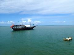"""On voit pas très bien mais c'est un bateau pirate. Aux couleurs du Brésil bien sûr. • <a style=""""font-size:0.8em;"""" href=""""http://www.flickr.com/photos/113766675@N07/14446712976/"""" target=""""_blank"""">View on Flickr</a>"""