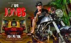 BEING STEVE JONES (Chris Hatounian Photography) Tags: nikon punkrock sexpistols sidvicious stevejones johnnyrotten creativelightingsystem nikonusa sb900 d7000