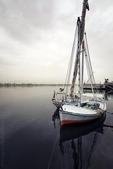 luxor. (kvdl) Tags: sailboat river boat may egypt nile luxor canonef1635mmf28liiusm ef1635mmf28liiusm kvdl