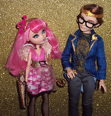 Cupid and Dex (Veni Vidi Dolli) Tags: dolls mattel cacupid everafterhigh dextercharming