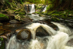 Halls Falls (thomp88(chasethemoments)) Tags: fall water river flow photography waterfall rocks stream photographer stones australia tasmania 5d tas aus cascade 5dm3 hallsfall