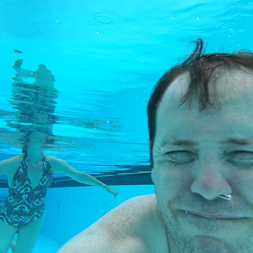 Water Selfie...taking selfies to whole other level. #waterselfie