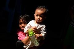 Sisters (Jenny NLF) Tags: light portrait children sister borneo sabah kota kinabalu watervillage nikond800