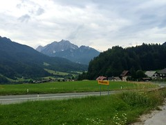 A fairly easy going walk to Podkoren along route 4 and back along route 3 (Thomson Lakes) Tags: walk viewpoint kranjskagora podkoren planicavalley