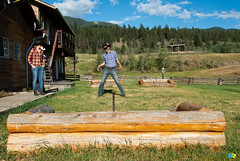BIG BAR RANCH (Thomas Rousselot) Tags: ranch summer horses horse cowboys coast cowboy bc britishcolumbia guest wildwest horseback horsebackriding cariboo chevaux chilcotin 2014 explorebc bigbarranch cariboochilcotincoast