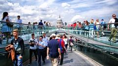 Millennium Bridge, London (Paulee (NZ)) Tags: uk bridge london streetphotography millennium