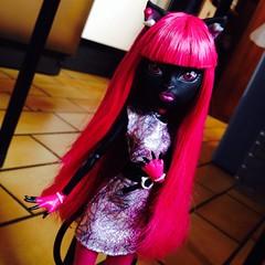 I'm the cat's meow (MyMonsterHighWorld) Tags: 2 monster high doll noir wave mattel 2014 catty scaremester