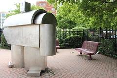 Longshoreman (ShellyS) Tags: art newjersey sculptures longshoreman stevensinger