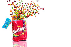 Skittles (rich_orange) Tags: explosion product skittles