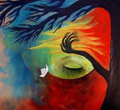 Le ansia de les árboles (Felipe Smides) Tags: agua viento árbol fuego pintura tierra smides felipesmides