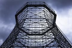 Skelett (.julian) Tags: canon 50mm essen kohle geometry zollverein kokerei stahl geometrie koks symmetrie gerst khlturm montanindustrie 5dmk2