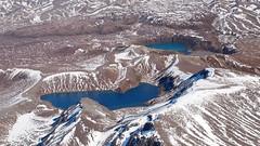 The Tama Lakes (blue polaris) Tags: park new winter snow ice landscape island volcano climb scenery mt crossing north lakes olympus mount zealand alpine national tama summit tongariro ngauruhoe omd em5