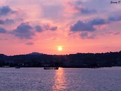 20130724 (6) (photography.sandy) Tags: sunset sea colors canon landscape eos soleil coucher paysage 1100d