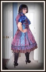 Fansplus Dress 3 (Christine Robyn Lane) Tags: dress lolita crossdresser pettiecoat brolita